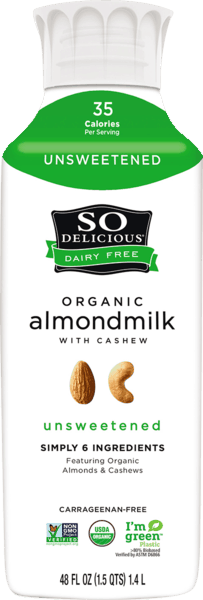 $1.00 for So Delicious® Dairy Free Organic Almondmilk (expiring on Thursday, 08/02/2018). Offer available at multiple stores.
