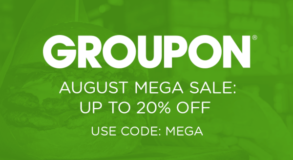 $0.00 for Use Code: MEGA (expiring on Friday, 08/17/2018). Offer available at Groupon.