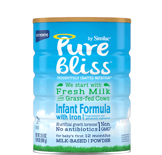 $5.00 for Pure Bliss™ Infant Formula. Offer available at multiple stores.