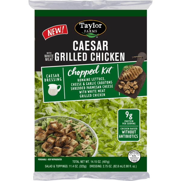 $0.75 for Taylor Farms® Grilled Chicken Chopped Salad Kits (expiring on Sunday, 06/02/2019). Offer available at multiple stores.