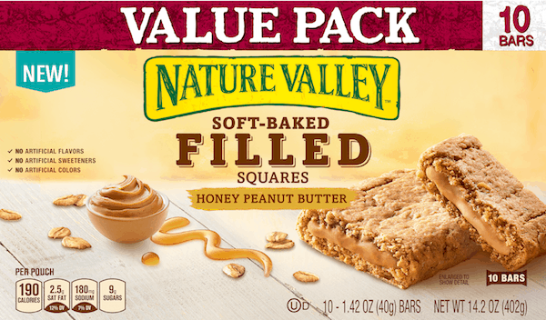 $0.75 for Nature Valley™ Bars (expiring on Friday, 02/16/2018). Offer available at Walmart.