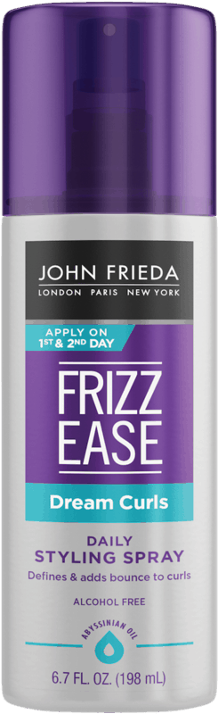 $1.00 for John Frieda Frizz Ease Styler Products or Luxurious Volume Hair Spray. Offer available at Walmart, Walmart Grocery.