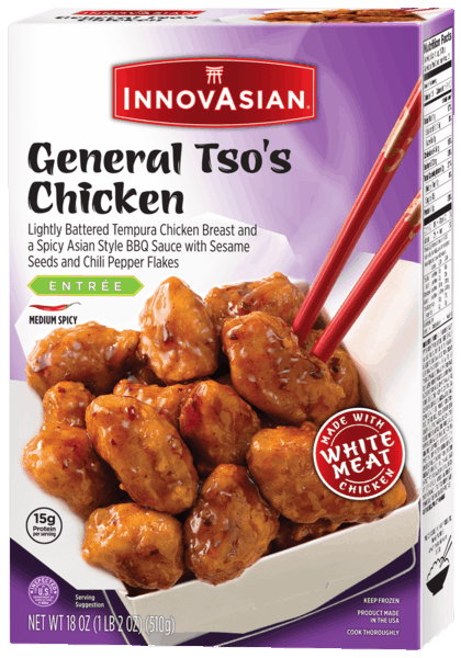 $1.00 for InnovAsian® Multi-Serve Entrees and Sides. Offer available at Walmart.