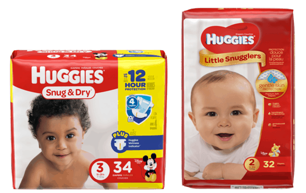 $1.00 for Huggies® Diapers (expiring on Saturday, 04/29/2017). Offer available at multiple stores.
