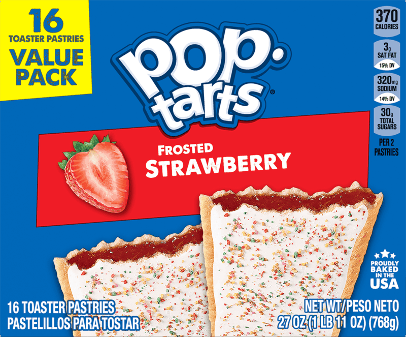 $0.25 for Pop-Tarts (expiring on Wednesday, 09/01/2021). Offer available at Walmart, Walmart Pickup & Delivery.