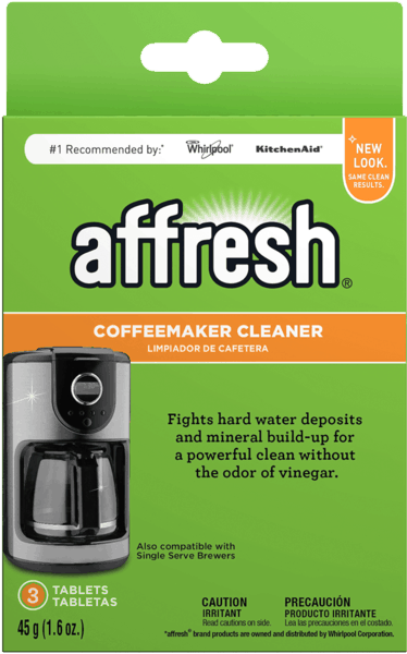 $1.00 for affresh® Coffeemaker Cleaner (expiring on Tuesday, 01/08/2019). Offer available at Walmart, Bed Bath & Beyond.