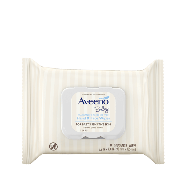 $1.50 for Aveeno Baby™ Hand & Face Wipes (expiring on Friday, 08/02/2019). Offer available at Walmart.