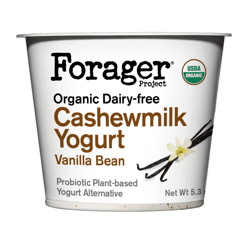 $1.00 for Forager Project Dairy-Free Cashewmilk Yogurt (expiring on Saturday, 10/31/2020). Offer available at Safeway.