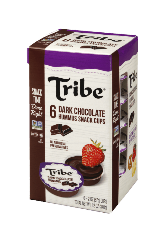 $1.25 for Tribe Dark Chocolate Hummus Cups (expiring on Monday, 05/04/2020). Offer available at Walmart.