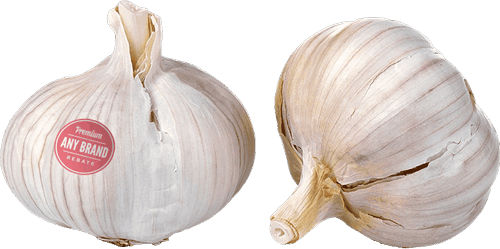 $0.25 for Fresh Garlic - Any Brand (expiring on Monday, 07/02/2018). Offer available at Whole Foods Market®.