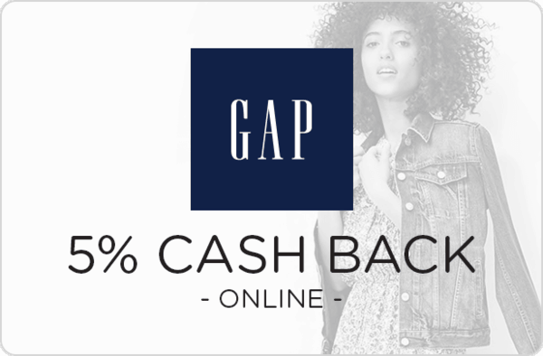 $0.00 for Gap (expiring on Sunday, 10/08/2017). Offer available at Gap.