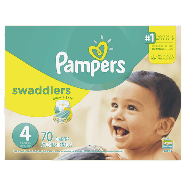 $1.00 for Pampers® Diapers (expiring on Wednesday, 06/20/2018). Offer available at Publix.