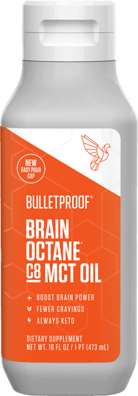 $7.00 for Bulletproof Brain Octane C8 MCT Oil. Offer available at multiple stores.