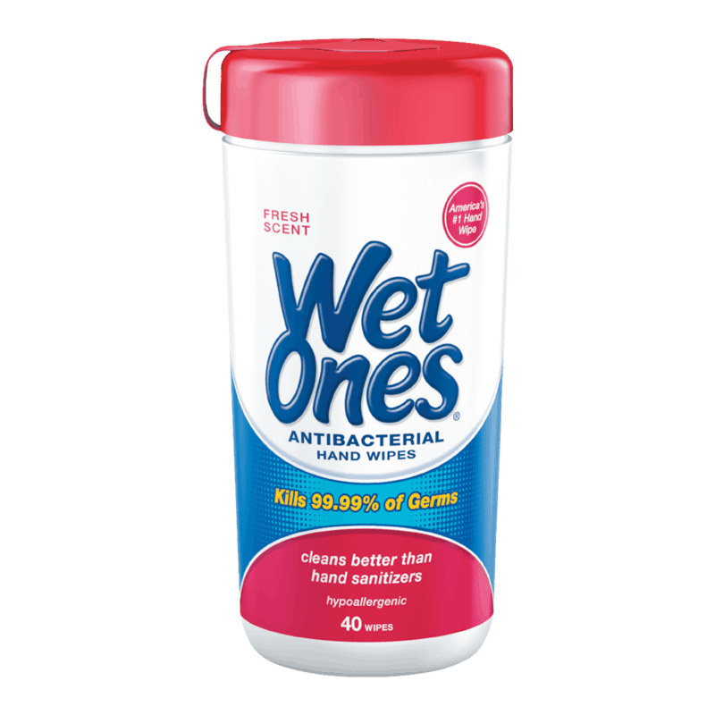$0.50 for Wet Ones® Hand Wipes (expiring on Thursday, 10/31/2019). Offer available at multiple stores.