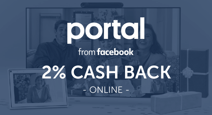 $0.00 for Facebook Portal (expiring on Friday, 10/31/2025). Offer available at Facebook Portal.
