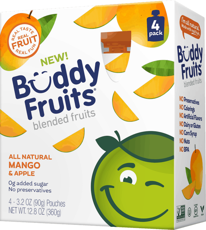 $0.75 for Buddy Fruits 4 Packs (expiring on Saturday, 10/31/2020). Offer available at multiple stores.