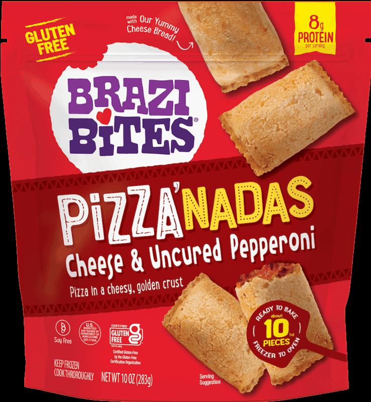 $1.25 for Brazi Bites Frozen Pizza'nadas (expiring on Wednesday, 11/03/2021). Offer available at Wegmans, United Supermarkets.