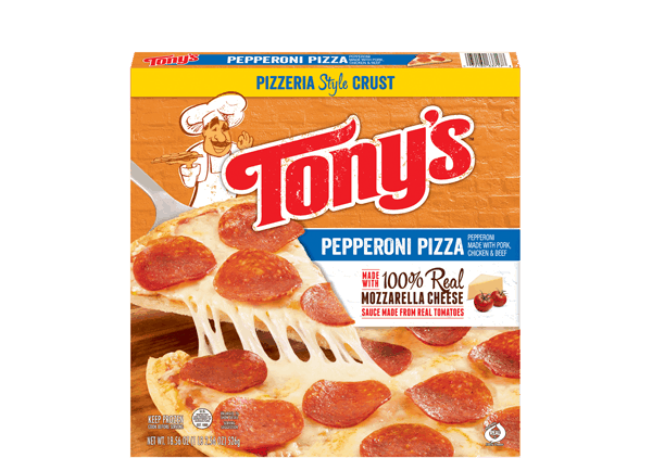 $0.50 for TONY'S® Frozen Pizza (expiring on Friday, 09/22/2017). Offer available at Target.