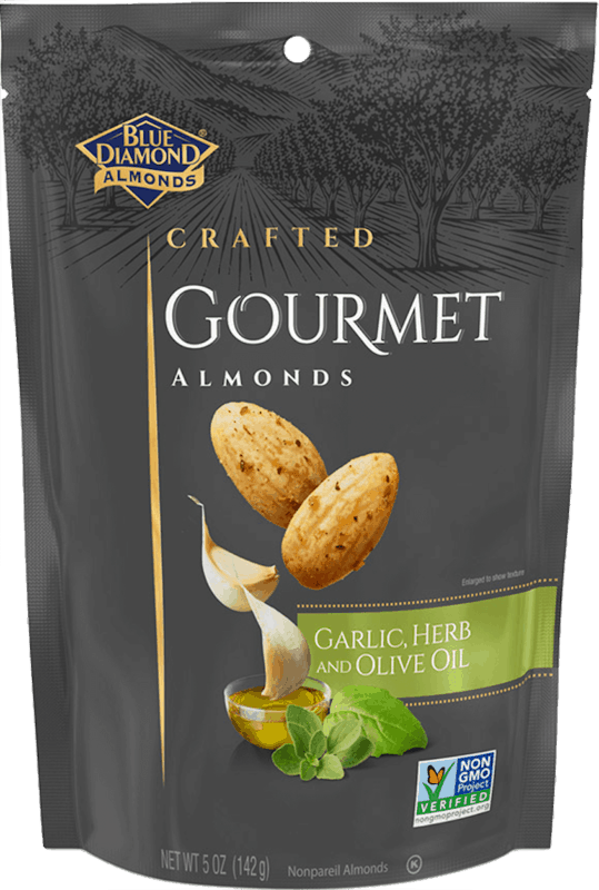 $1.00 for Blue Diamond® Gourmet Almonds (expiring on Monday, 12/16/2019). Offer available at multiple stores.