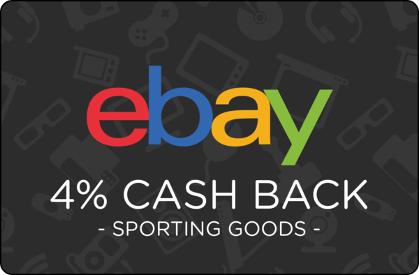 $0.00 for Ebay Sporting Goods. Offer available at eBay.