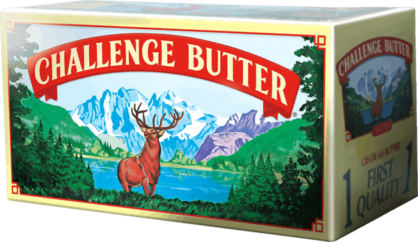 $0.25 for Challenge® Salted or Unsalted Butter (expiring on Sunday, 09/30/2018). Offer available at Walmart.