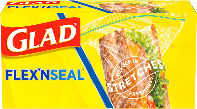 $1.00 for Glad Flex'N Seal (expiring on Saturday, 01/08/2022). Offer available at Walmart, Walmart Pickup & Delivery.