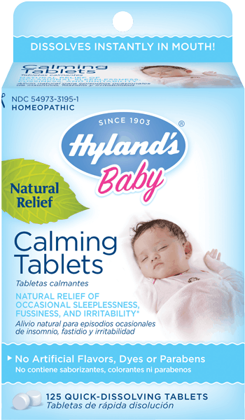 $1.00 for Hyland's® Baby Calming Tablets. Offer available at multiple stores.