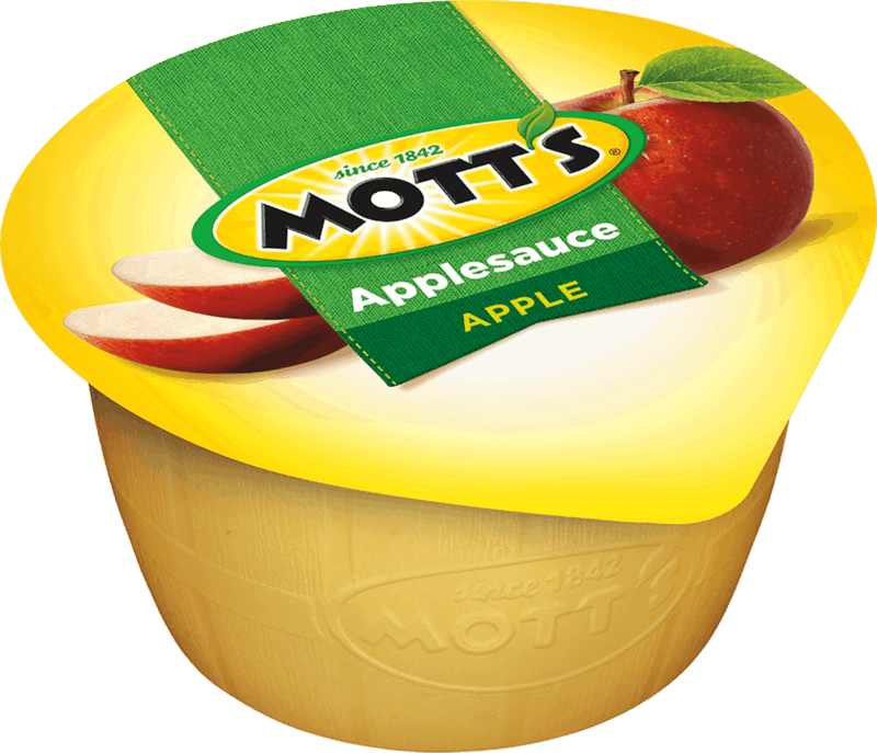 $0.75 for Mott's® Applesauce Cups (expiring on Tuesday, 10/01/2019). Offer available at multiple stores.