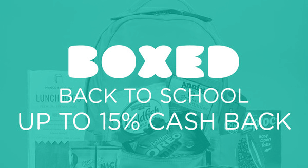 $0.00 for Boxed Back To School (expiring on Friday, 08/31/2018). Offer available at Boxed.