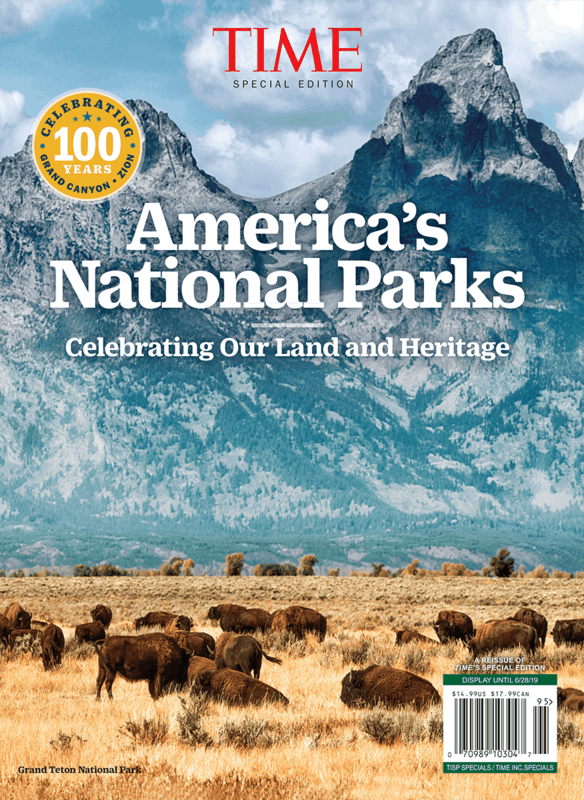 $2.00 for Time: America's National Parks (expiring on Sunday, 06/30/2019). Offer available at Walmart.
