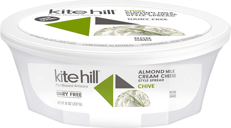 $1.50 for Kite Hill® Almond Milk Cream Cheese Style Spread (expiring on Sunday, 02/02/2020). Offer available at multiple stores.