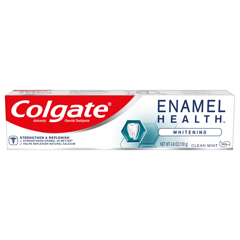 $1.00 for Colgate® Enamel Health Toothpaste. Offer available at multiple stores.