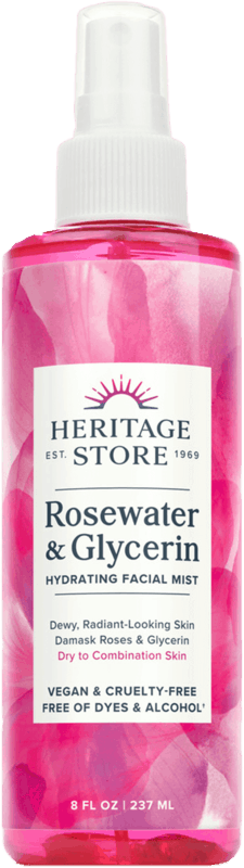 $3.00 for Heritage Store Rosewater & Glycerin (expiring on Thursday, 12/16/2021). Offer available at Walmart, Walmart Pickup & Delivery.