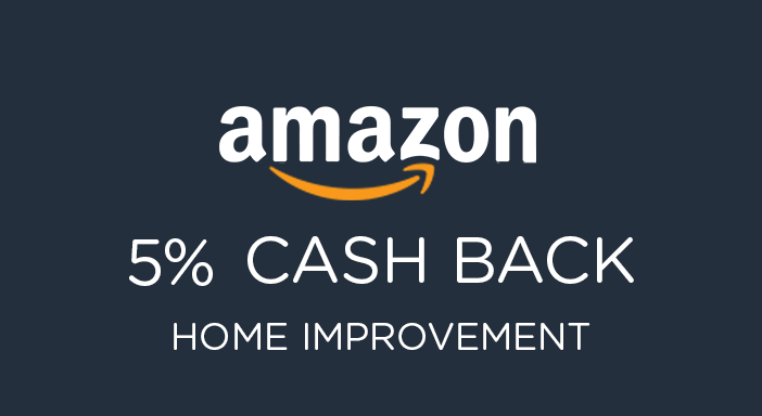 $0.00 for Amazon Home Improvement (expiring on Tuesday, 12/31/2019). Offer available at Amazon.