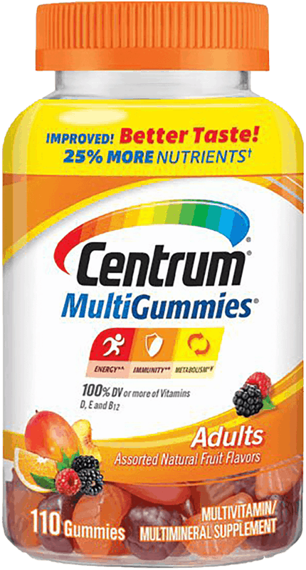 $3.00 for Centrum® MultiGummies®. Offer available at multiple stores.