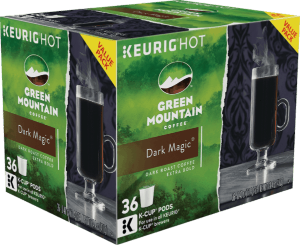 $1.50 for Green Mountain Coffee® K-Cup® pods (expiring on Sunday, 12/31/2017). Offer available at multiple stores.