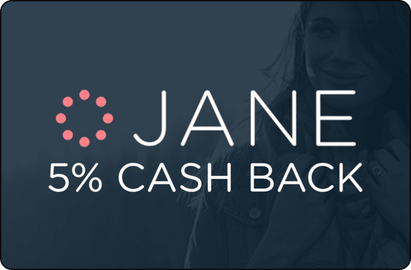 $0.00 for Jane (expiring on Sunday, 10/22/2017). Offer available at Jane.com.