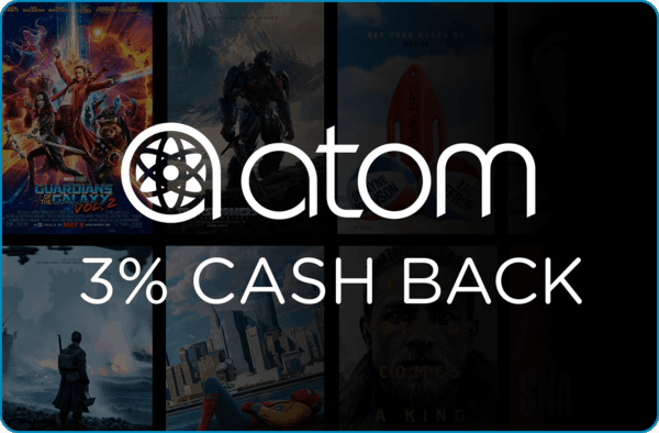 $0.00 for Atom Tickets (expiring on Friday, 03/02/2018). Offer available at Atom Tickets.