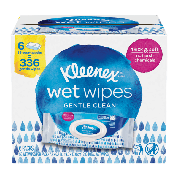$2.00 for Kleenex® Wet Wipes (expiring on Monday, 03/25/2019). Offer available at Sam's Club.