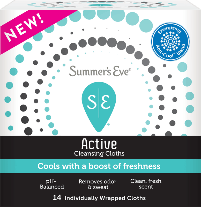 $1.00 for Summer's Eve Active Feminine Cleansing Cloths. Offer available at Walmart, Walmart Pickup & Delivery.