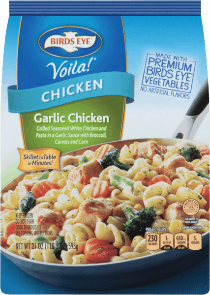 $0.75 for BIRDS EYE® Voila!® (expiring on Friday, 03/02/2018). Offer available at Walmart.