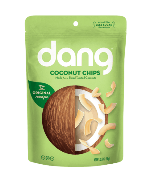 $1.50 for Dang® Coconut Chips (expiring on Friday, 09/28/2018). Offer available at Walmart.