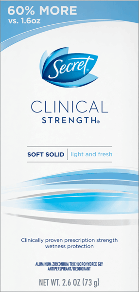 $1.00 for Secret® Clinical Strength® Deodorant (expiring on Friday, 12/01/2017). Offer available at Target.