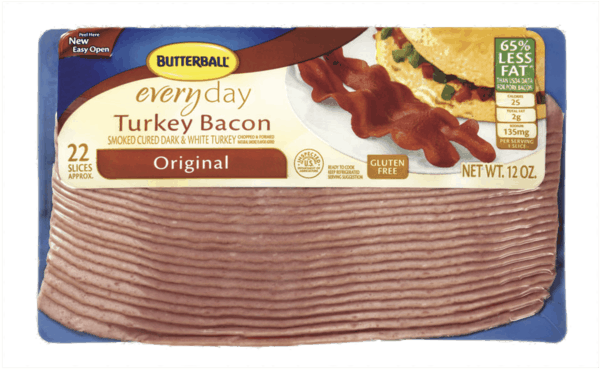 $0.50 for Butterball® Everyday Turkey Bacon (expiring on Thursday, 08/02/2018). Offer available at multiple stores.