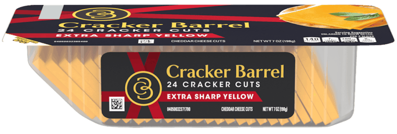 $0.75 for Cracker Barrel Cracker Cuts (expiring on Sunday, 05/31/2020). Offer available at multiple stores.