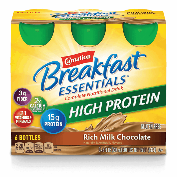 $1.25 for Carnation Breakfast Essentials® Nutritional Products Ready-To-Drink. Offer available at multiple stores.