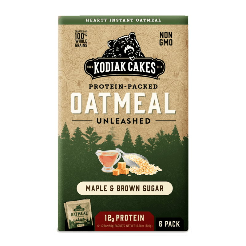 $1.00 for Kodiak Cakes Oatmeal Packets (expiring on Wednesday, 01/22/2020). Offer available at multiple stores.