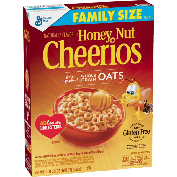 $0.15 for Honey Nut Cheerios™ Cereal (expiring on Sunday, 06/02/2019). Offer available at multiple stores.