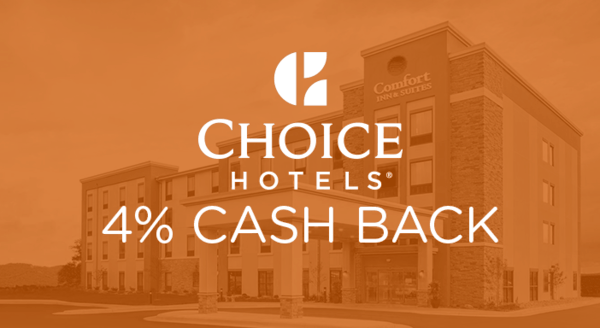 $0.00 for Choice Hotels (expiring on Saturday, 08/31/2019). Offer available at Choice Hotels.