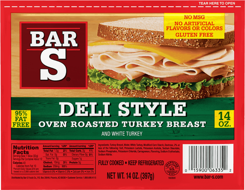 $0.50 for Bar - S Deli Meat (expiring on Tuesday, 09/07/2021). Offer available at Walmart, Walmart Pickup & Delivery.